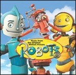 Cover CD Colonna sonora Robots