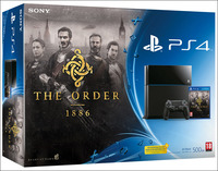 Sony Playstation 4 + The Order: 1886