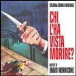 Cover CD Colonna sonora Chi l'ha vista morire?