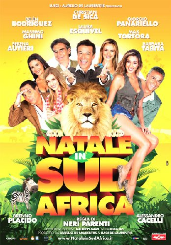 Cover Dvd DVD Natale in Sudafrica