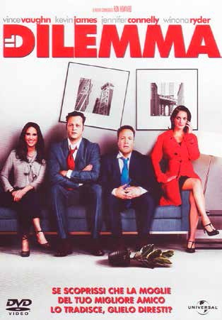 Cover Dvd DVD Il dilemma