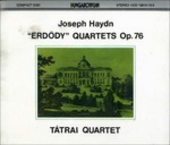 CD Quartetti Erdödy op.76 di Franz Joseph Haydn
