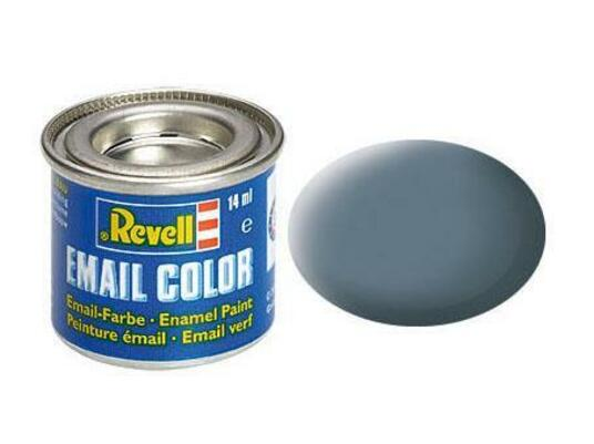 Vernice a Smalto Revell Email Color Greyish Blue Mat - 2