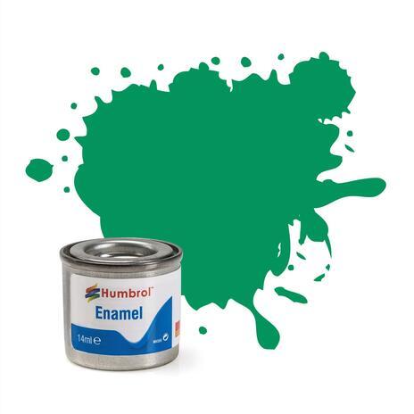 Humbrol No 50 Green Mist Metallic Enamel Tinlet No 1 14Ml