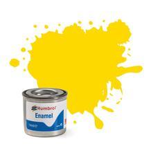 Humbrol No 69 Yellow Gloss Enamel Tinlet No 1 14Ml
