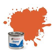 Humbrol No 82 Orange Lining Matt Enamel Tinlet No 1 14Ml