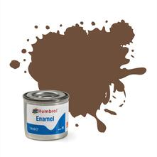 Humbrol No 98 Chocolate Matt Enamel Tinlet No 1 14Ml