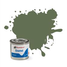Humbrol No 102 Army Green Matt Enamel Tinlet No 1 14Ml