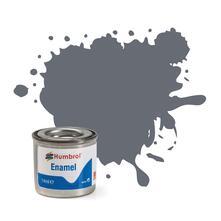 Humbrol No 123 Extra Dark Sea Grey Satin Enamel Tinlet No 1 14Ml
