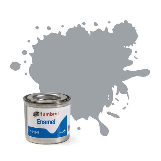 Humbrol No 165 Medium Sea Grey Satin Enamel Tinlet No 1 14Ml