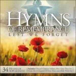 CD Lest We Forget