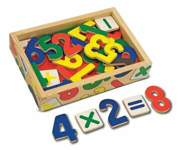 Magnetic Wooden Numbers - 3