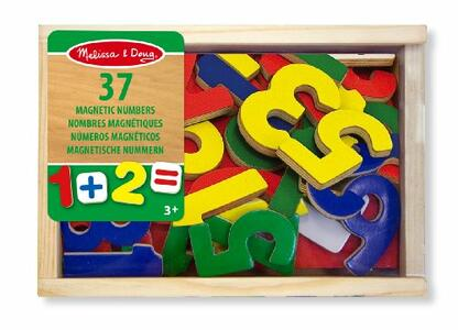 Magnetic Wooden Numbers - 8