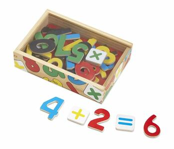 Magnetic Wooden Numbers - 12