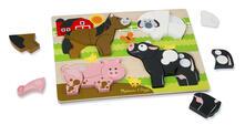 Melissa & Doug Chunky Jigsaw Puzzle - Farm 20 pezzo(i)