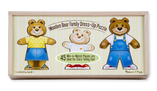 Vesti la famiglia degli orsi di legno - 11