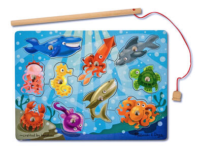 Melissa & Doug Fishing Magnetic Puzzle Game 10 pezzo(i) - 2