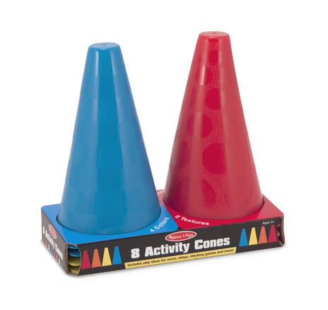 Activity Cones Set of 8 - 4