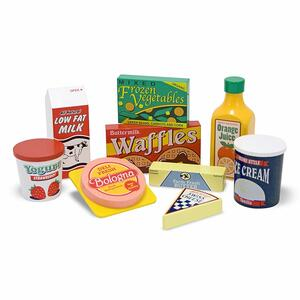 Melissa & Doug Wooden Fridge Food - 2