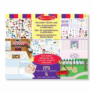 Melissa & Doug Reusable Sticker Pad - Play House! - 2