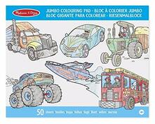 Jumbo Colouring Pad. Vehicles