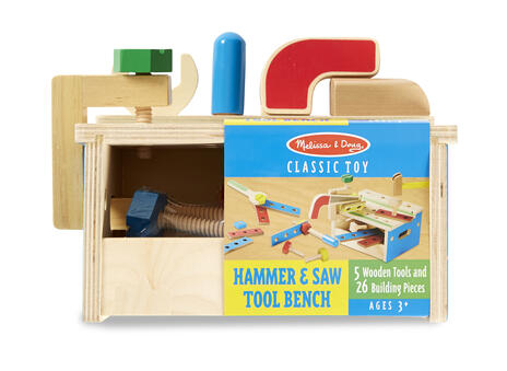 Hammer & Saw Tool Bench - 2