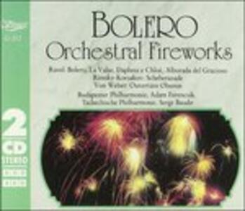 Bolero, Daphnis Et Chlose - CD Audio di Maurice Ravel