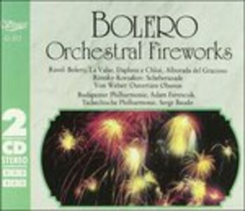 CD Bolero, Daphnis Et Chlose di Maurice Ravel