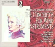 Concerto per Flauto K 299,313,314, Concerto per Corno K 412,417,447,495 (Digipack) - CD Audio di Wolfgang Amadeus Mozart