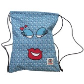 Borsa a sacchetta Invicta Easy face. Little hearts