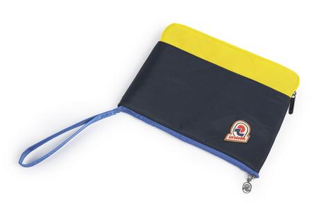 Cartoleria Tasca Porta Tablet Invicta Office. Blu e giallo Invicta