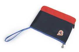 Cartoleria Tasca Porta Tablet Invicta Office. Blu e rosso Invicta