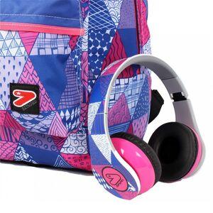 Cartoleria Zaino Double BackPack Seven Digital Special Edition. Viola-Rosa Seven 3