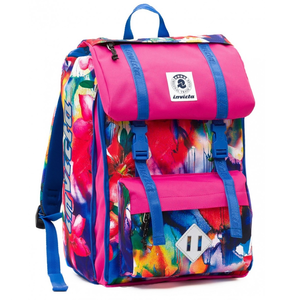 Cartoleria Zaino Square BackPack Invicta Fantasy Flower Invicta 0