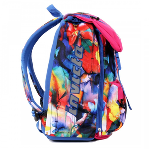 Cartoleria Zaino Square BackPack Invicta Fantasy Flower Invicta 1