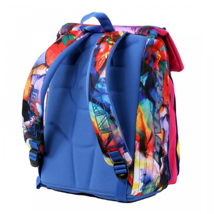 Cartoleria Zaino Square BackPack Invicta Fantasy Flower Invicta 3