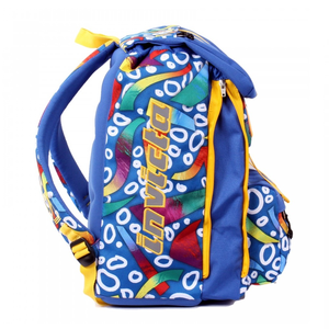 Cartoleria Zaino Square BackPack Invicta Fantasy Blue Fantasy Invicta 2