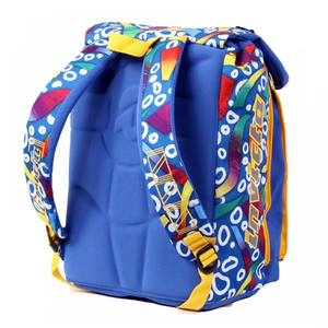 Cartoleria Zaino Square BackPack Invicta Fantasy Blue Fantasy Invicta 3