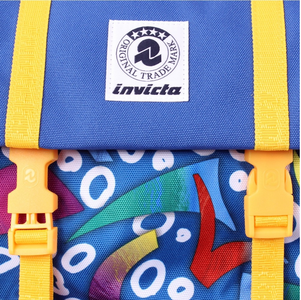Cartoleria Zaino Square BackPack Invicta Fantasy Blue Fantasy Invicta 4