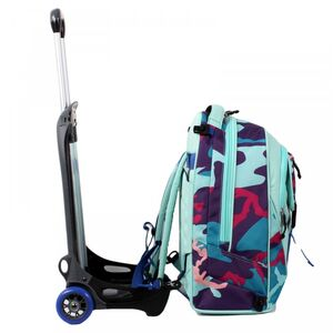 Cartoleria Zaino Plug + Trolley Invicta Camo Girl Invicta 3