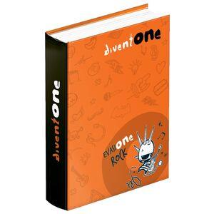Cartoleria Diario 2016-2017, 12 mesi, Diventone. Arancione Seven