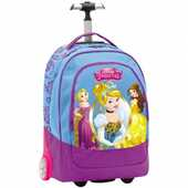 Cartoleria Zaino Big Trolley Principesse Disney Mirror. Azzurro Seven