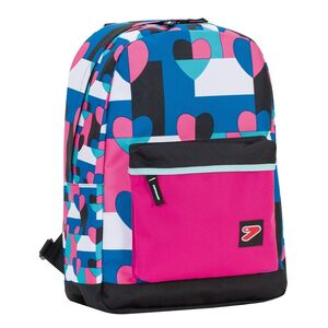Cartoleria Cover per Zaino The Double BackPack Seven. Rosa Seven 0