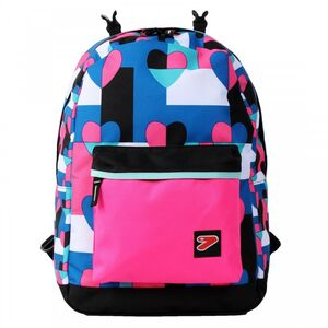 Cartoleria Cover per Zaino The Double BackPack Seven. Rosa Seven 3