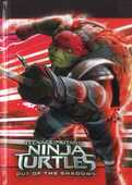 Cartoleria Diario non datato 10 mesi Teenage Mutant Ninja Turtles. Rosso Auguri Preziosi
