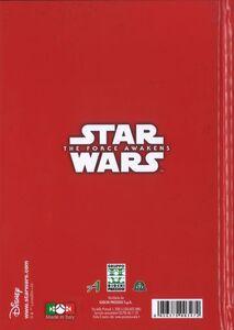 Cartoleria Diario non datato 10 mesi Star Wars The Force Awakens. Kylo Ren & Stormtrooper Auguri Preziosi 1