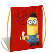 Cartoleria Borsa sacchetta Minions. Hello London Gut