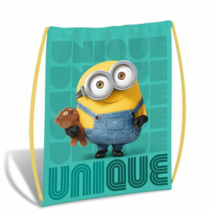 Cartoleria Borsa sacchetta Minions. Unique Gut 0