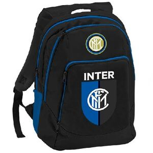 Cartoleria Zaino Double Inter. Nero Gut