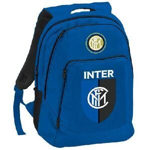 Cartoleria Zaino Double Inter. Blu Gut